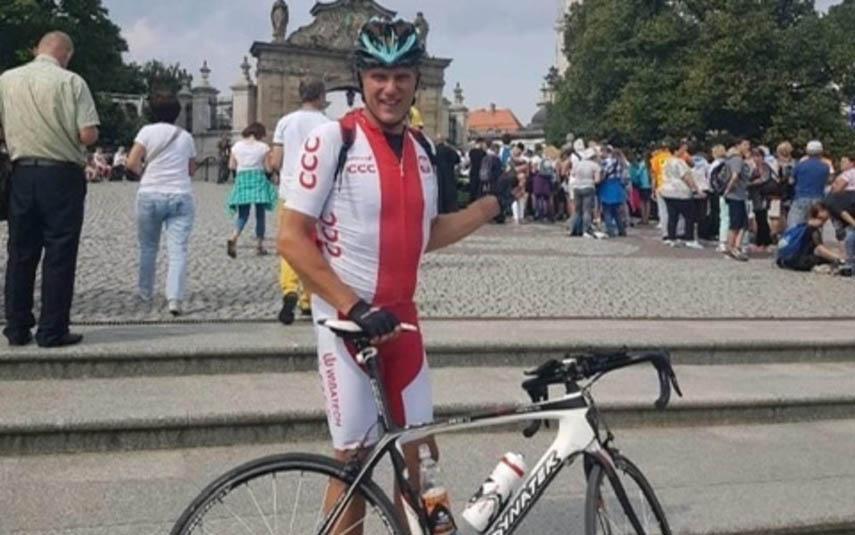 Robert uległ wypadkowi na rowerze. Jest zbiórka na rehabilitację. Pomożecie?