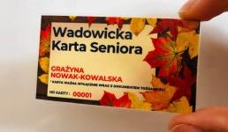 Od 1 grudnia rusza Wadowicka Karta Seniora. Można składać wnioski