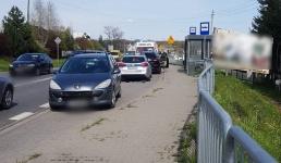 15-latka potrącona na przejściu dla pieszych na krajówce w Inwałdzie