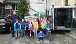 Bezpiecznie wakacje z kalwaryjskimi policjantami