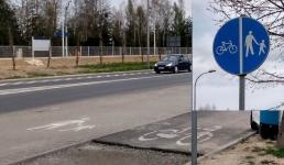 Coś burmistrzowi Kalińskiemu słabo wychodzą te ścieżki rowerowe...