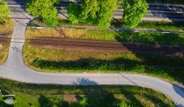 Trwa budowa kolejowej mijanki z przystankiem w Barwałdzie Średnim
