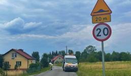 Kolejny próg zwalniający w Jaroszowicach