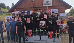 OSP Targanice Dolne na podium. Zajęli III miejsce w ogólnopolskich zawodach pożarniczych
