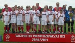 Piłkarki Wisły Brzeźnica wicemistrzyniami Polski!