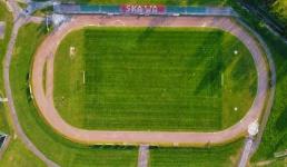 Burmistrz Kaliński obiecuje nowe boisko na Skawie jeszcze w tym roku