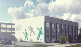 Większość pieniędzy na nową halę sportową w Andrychowie będzie z dotacji